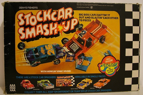 Stock Car Smash Up: Ssp Kenner, Nostalgia Ssp, Boards Games, Cars Smash, Stickcar Smash, Stockings Cars