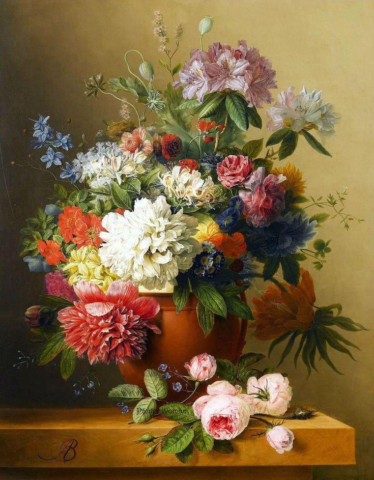 Цветы и букеты м. федотов и г. валюшкина, весенний