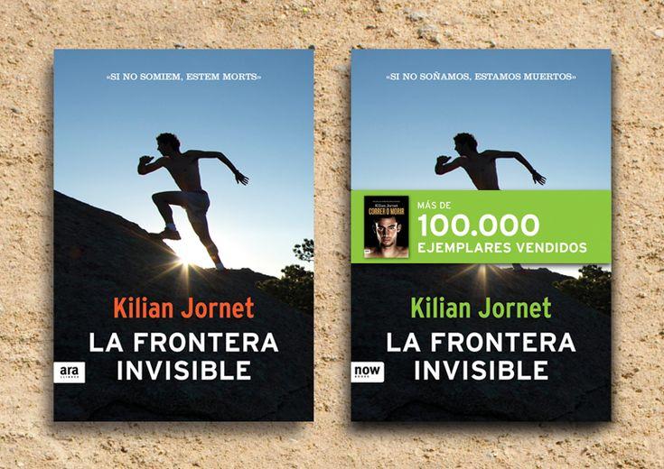 Portadas del segundo libro de Kilian Jornet. #bookcover #portadas #editorial #design