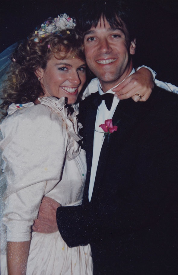 October 6th 1990...our wedding xxx