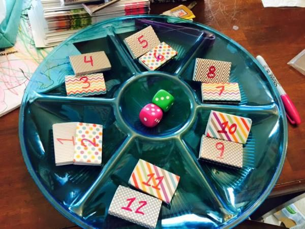 I found the most AWESOME booking game for my Thirty-One home parties! I'm going to call it the Matchbox Dice Booking Game, cause I like to make up words. LOL! It was so easy and so fun for th…