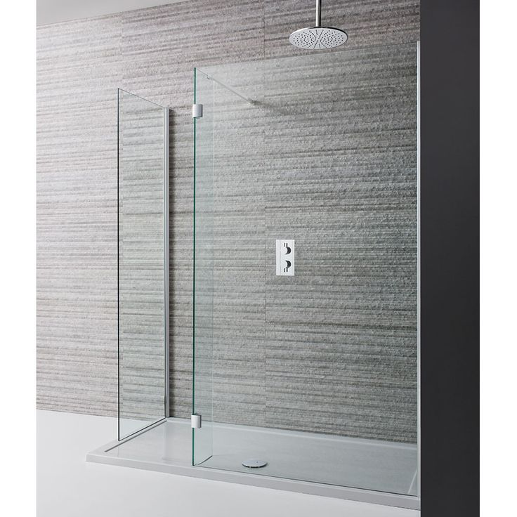 Simpsons Design Walk In Shower Enclosure & Shower Tray