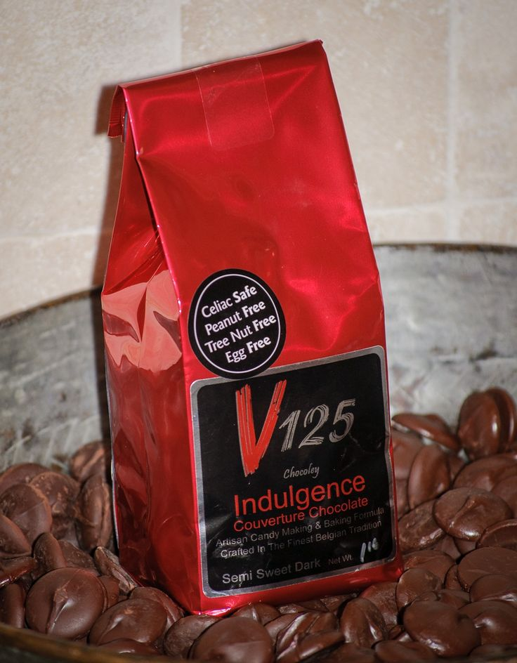 Chocoley V125 Indulgence Couverture Chocolate Semi Sweet Dark