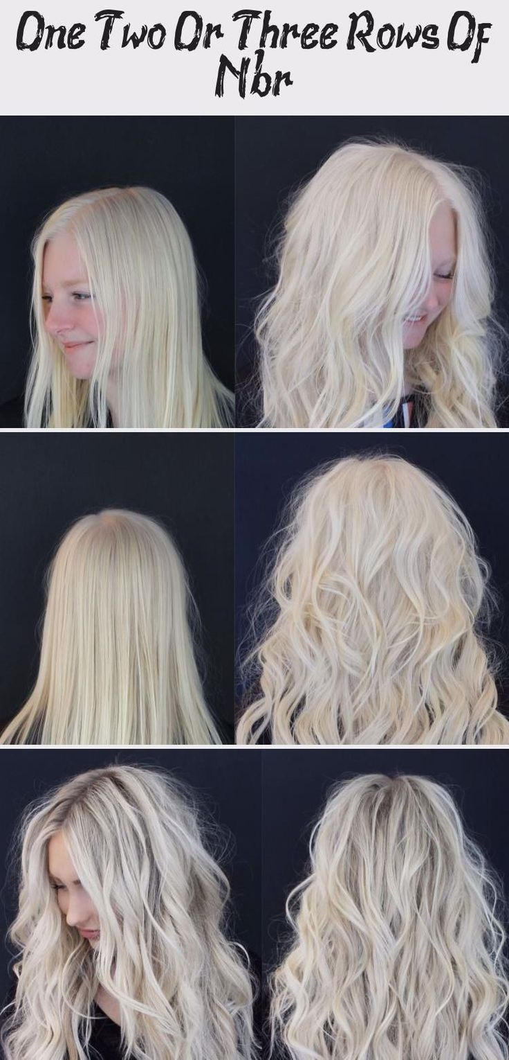 One, Two Or Three Rows Of Nbr? HairStyles NailStyles in