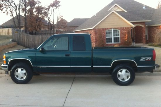 My 8th car, a 1997 Chevrolet Silverado Z71 4X4
