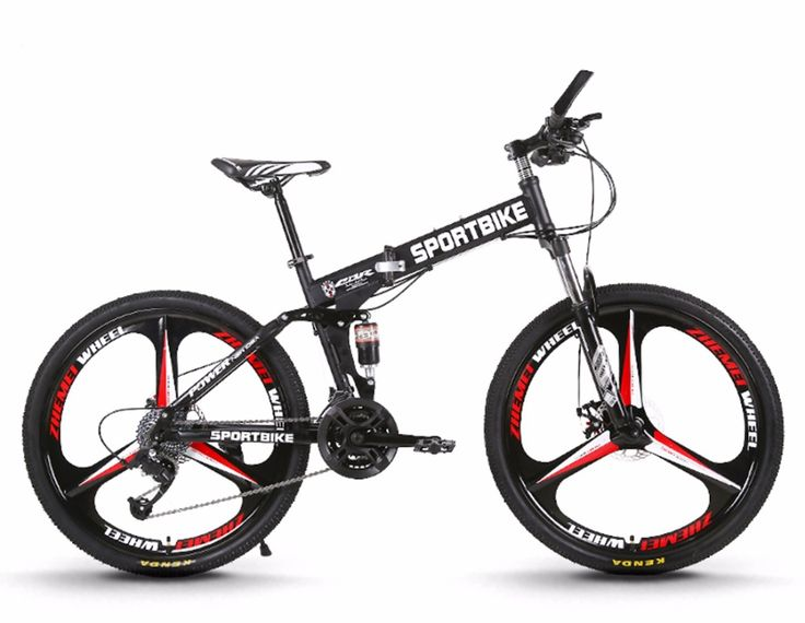 26-inch folding  mountain bike 21/24/27 speed one-spoke wheel group folding speed variable male and female students bicycle
