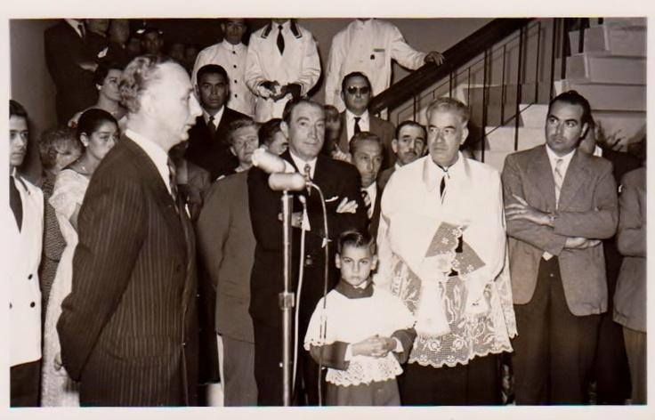 Inauguración de Hotel San Martín, enero 1958. #HsmChile #VinadelMar #Chile #Historia #Hotelería #Turismo