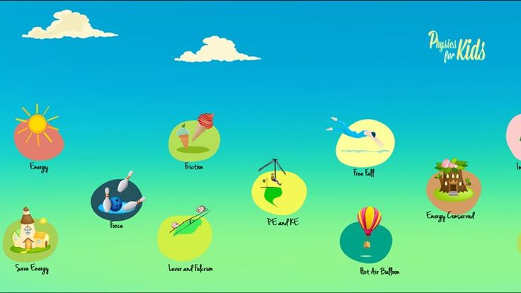 Physics for kids // Discover the amazing world of physics