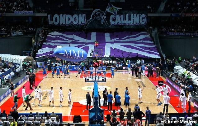 London Calling -Tifo Palacio de los deportes 10.04.13