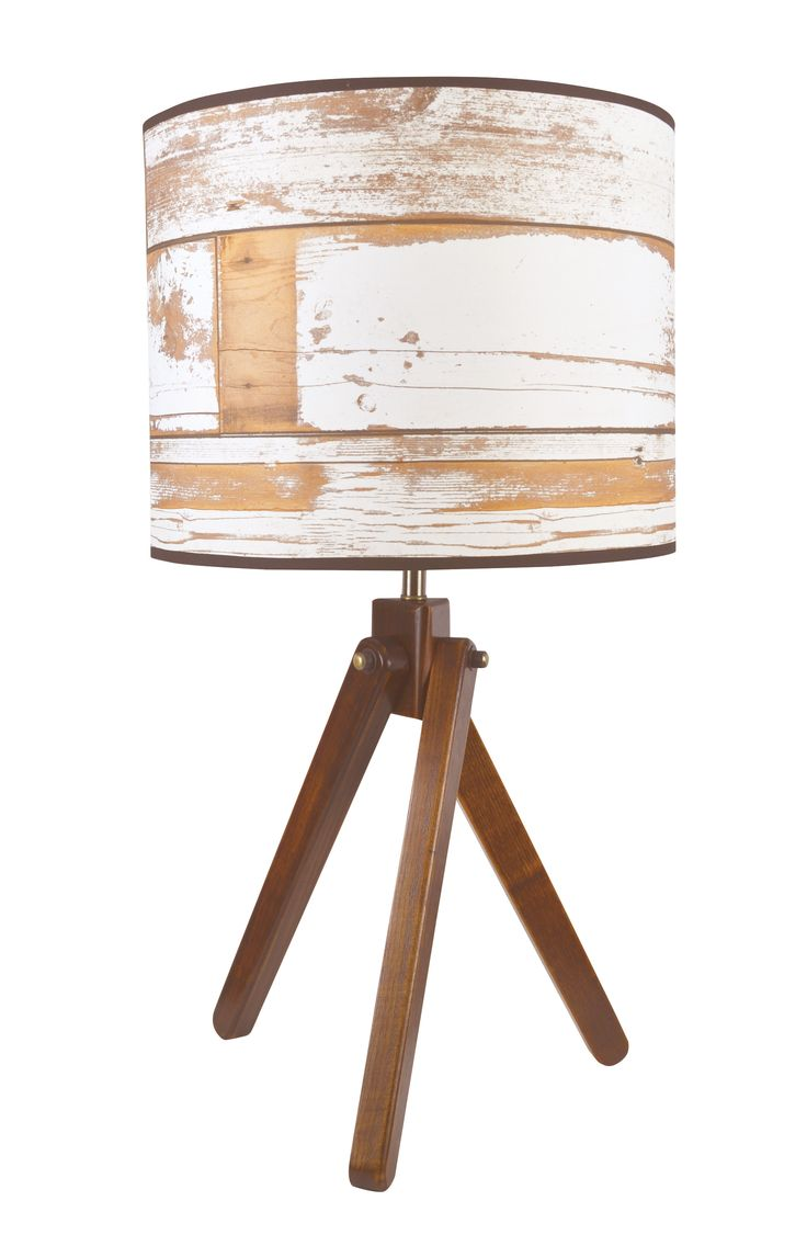 Howell Aged Wood Design Table Lamp