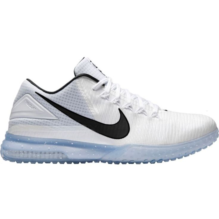 Nike Men\u0027s Air Zoom Trout 3 Turf Baseball Shoes, Size: 16, White