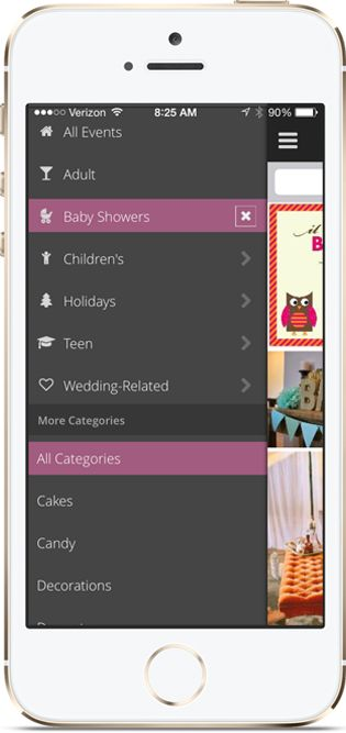 baby shower planning app
