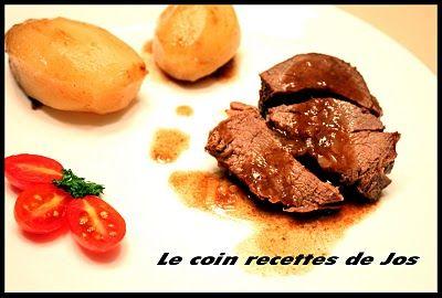 Le coin recettes de Jos: RÔTI D'ORIGNAL À LA BIÈRE ET JUS DE TOMATES