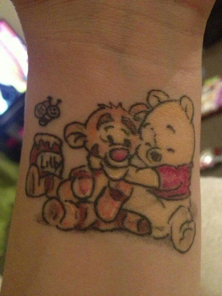Winnie the pooh tigger tattoo tattoos pinterest my for Winnie the pooh tattoo