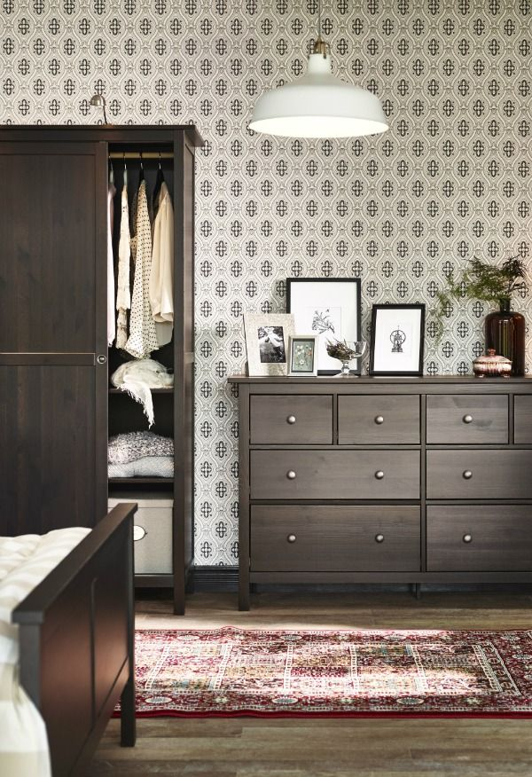 402 best images about Bedrooms on Pinterest  Wardrobes Ikea