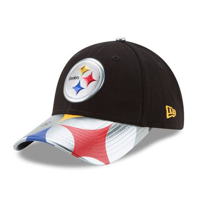 Women's New Era Black Pittsburgh Steelers 2017 NFL Draft On Stage 9FORTY Adjustable Hat