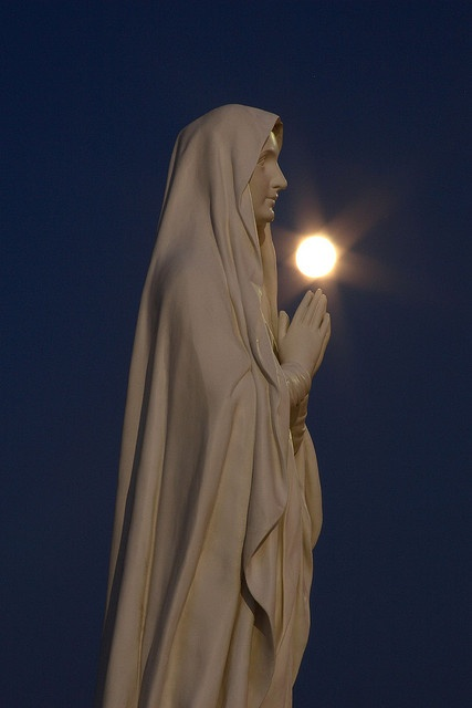 Blessed Virgin Mary at Central Catholic High School, Bloomington, Illinois