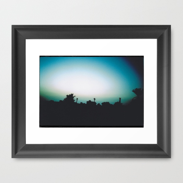 Tunisia Skyline Framed Art Print - Free shipping Worldwide thru Sunday, 31st March!!!