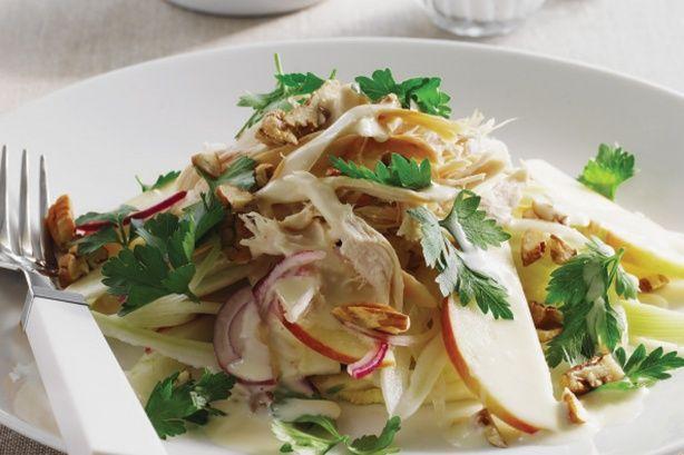 Chicken, sweet apple and fennel salad | Food | Pinterest