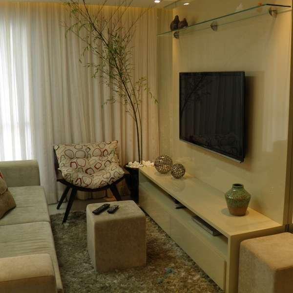 POR  QuE con VIDRIO  Rápido e fácil: veja 5 mandamentos para decorar sala pequena