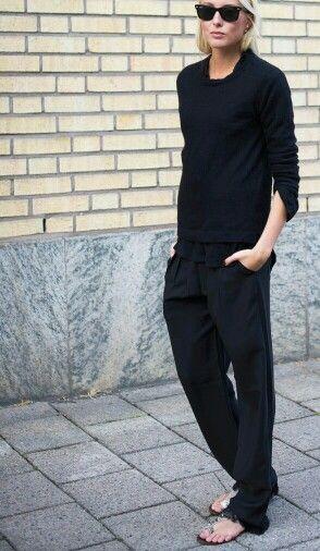 Minimal + Chic | @codeplusform all black outfit #minimalist #fashion #style