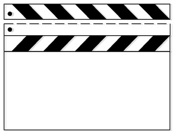 blank film slate - photo #26