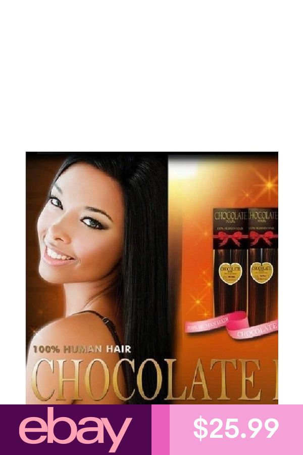 Evertress Chocolate Yaky Weave Extention 12 100 Human Hair
