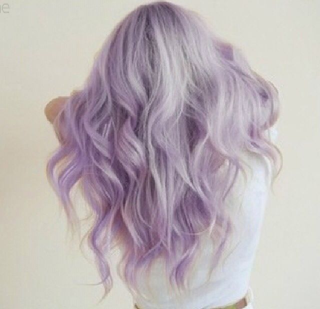 cool I wanted Lavender hair so bad last summer. Sadly I forgot my dads colour blind b...