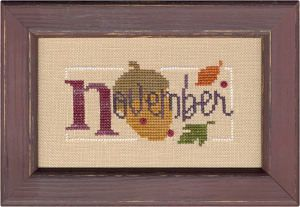 A Bit of November Flip-It Bits model from Lizzie Kate