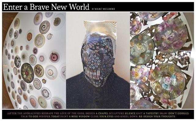 'Enter a brave new world' Marc Mulders for the Dutch Design Week Eindhoven 2013.