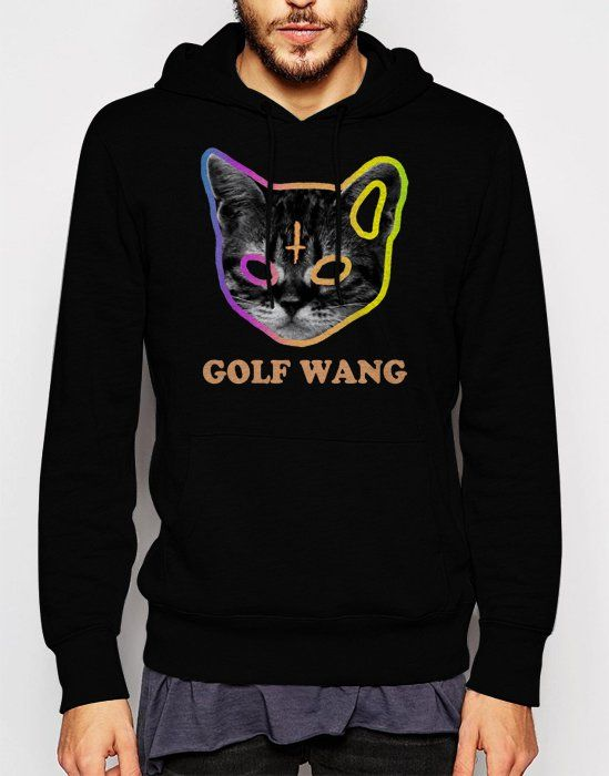 Gift+for+Men+Golf+Wang+Cat+OFWGKTA+Tyler+the+Creator+Odd+Future+Wolf+Gang+Black