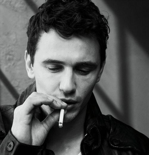 Words... James dean smoking