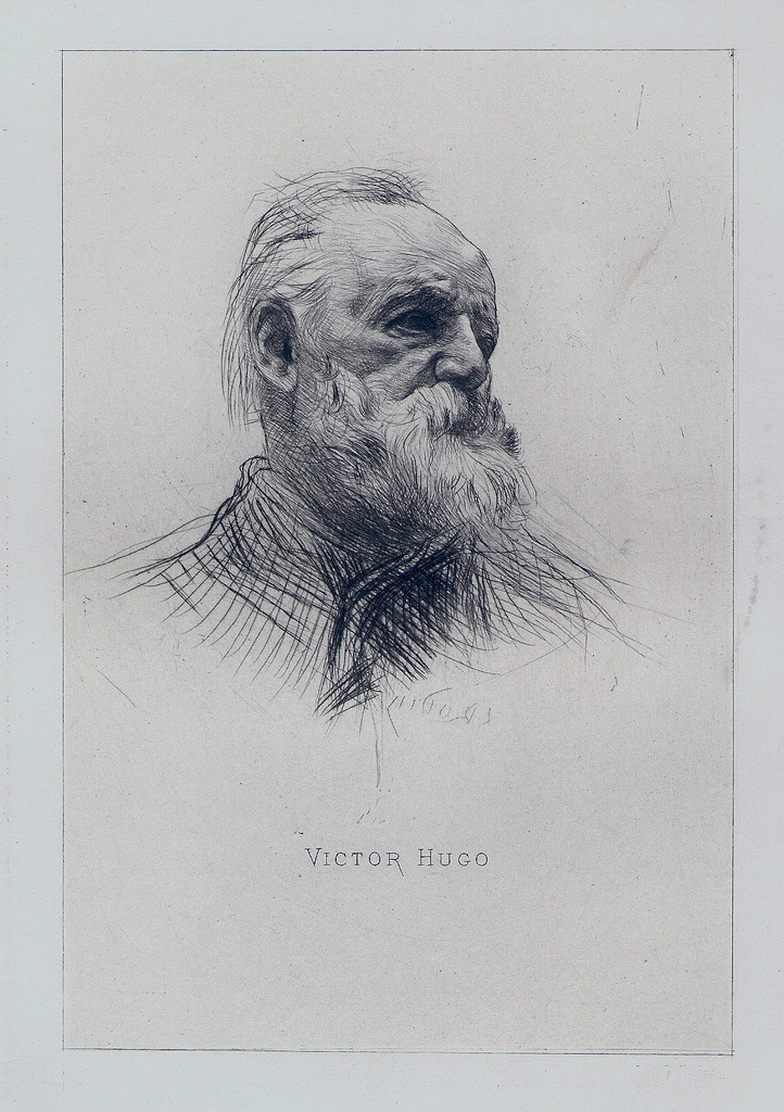 """Rodin """"Victor Hugo""""  """"The future has many names. For the weak, it's unattainable. For the fearful, it's unknown. For the bold, it's ideal."""""""