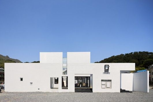239 best buildings in korea images on pinterest korea for Korean minimalist house