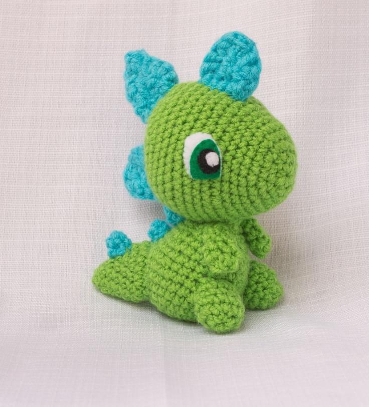 Dinosaur Stuffed Animal - Dinosaur Plush - Crochet ...
