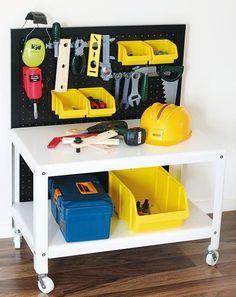 IKEA Hack: Baut eine Kinder-Werkbank aus einem Couchtisch - [GEO]