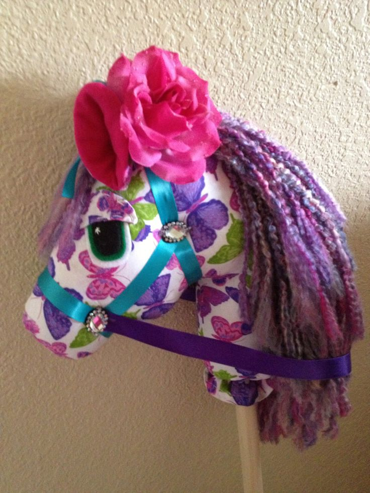 Addi's Wonderland Stick horse Twinkle by HopelesslyHookedSM, $50.00