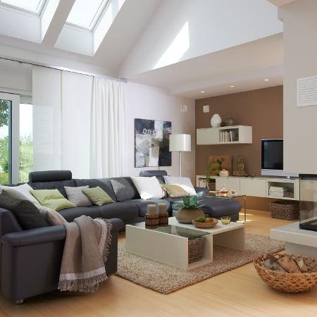 WOHNIDEE-Haus 2011: Die wichtigsten  Räume im Überblick - Wohnidee-Haus_2011-wohnzimmer-q3