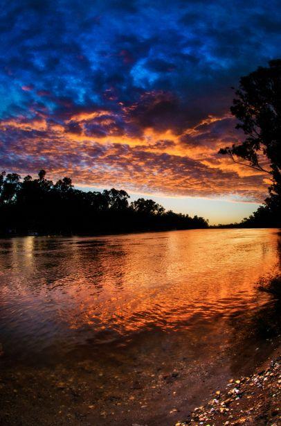 ~~The Murray River • the longest river in Australia, Corowa, Australia • by JaquelineBarka~~
