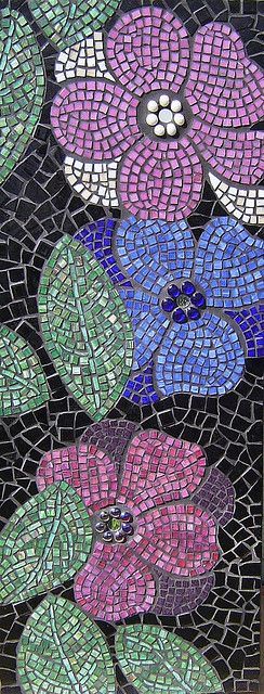 FLOWER PANEL 2 - SOLD by Julee Latimer, via Flickr
