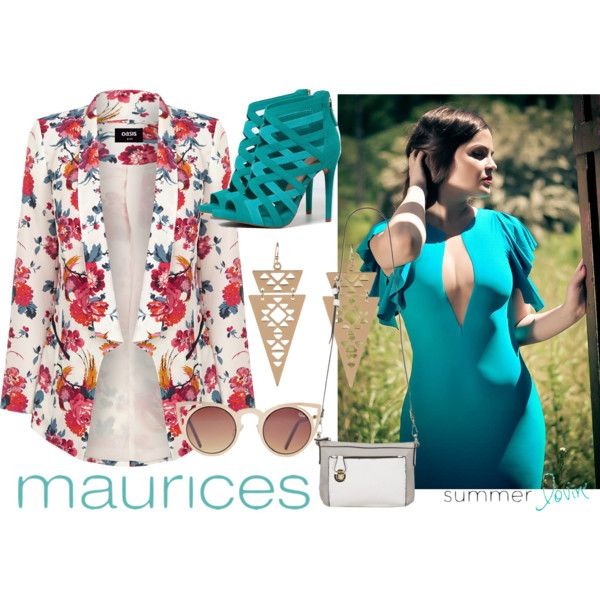 maurices Contest: Summer Lovin' by maia-ratiu on Polyvore featuring Oasis, Bershka and maurices