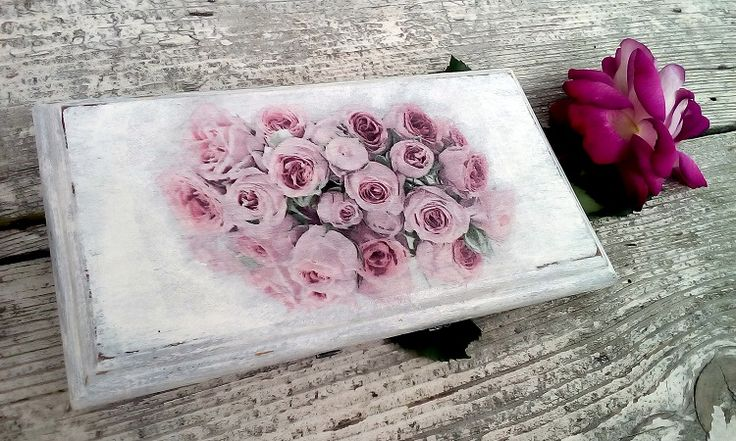 #obrazek #róże#decoupage