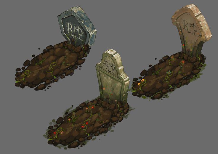 Grave Concepts, Vlad Harabagiu on ArtStation at https://www.artstation.com/artwork/grave-concepts