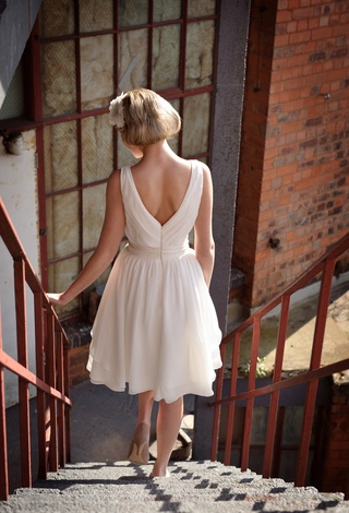 Tobi Hannah | Tobi Hannah Bridal | Spring 2013 Campaign | Tea Length Dresses, Short Wedding Dresses