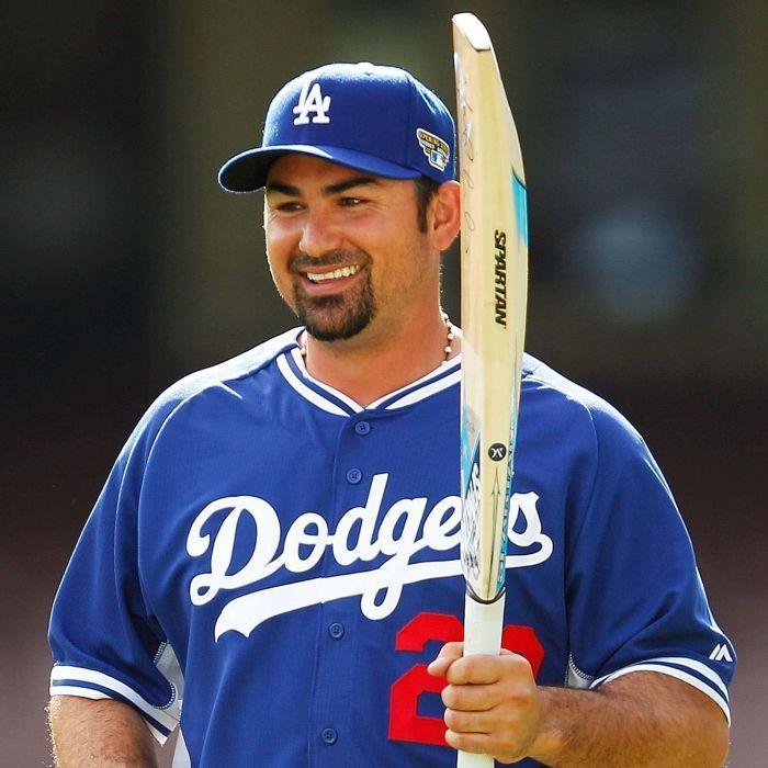 Dodgers Players | LA Dodgers player Adrian Gonzalez at the SCG - ABC News (Australian ...