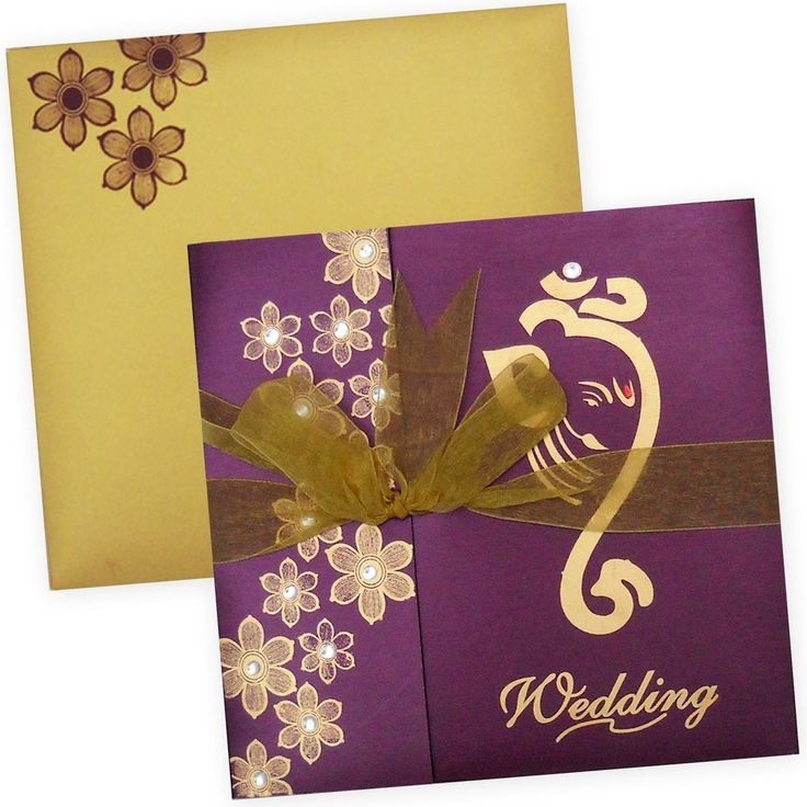 Indian wedding card 146 best INDIAN WEDDING