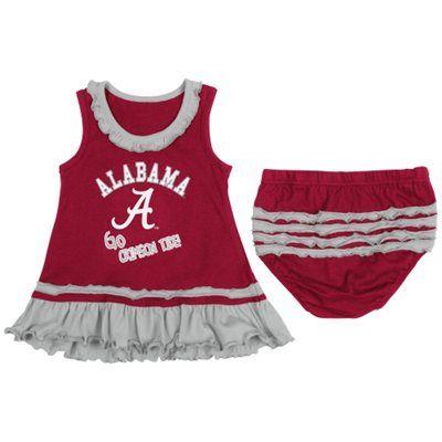 Michigan State University Spartans Baby and Toddler Cheerleader Bodysuit Dress