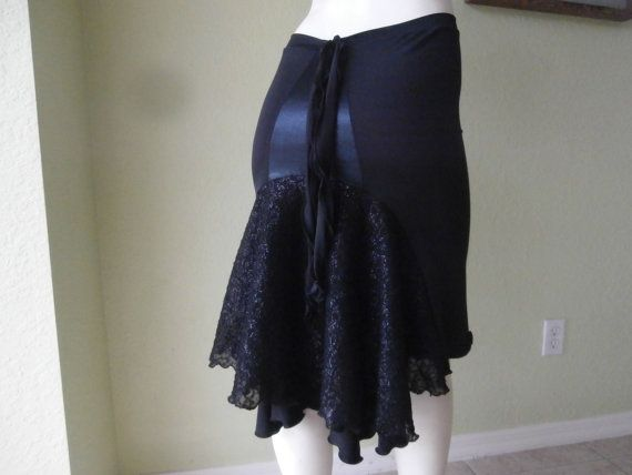 Long black dress size 0 skirts