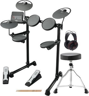 Yamaha DTX400K Compact E-Drum Bundle