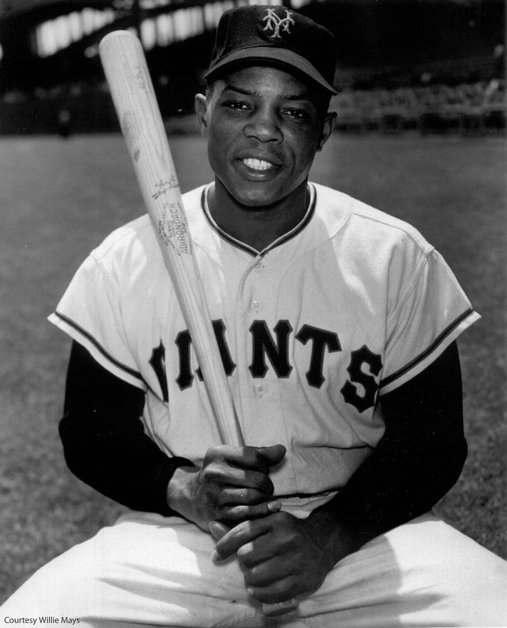Willie Mays the greatest Giant of all time!
